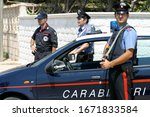 Armed Carabinieri During A...