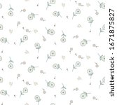 floral seamless pattern with... | Shutterstock .eps vector #1671875827