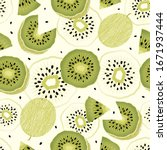 seamless background with sliced ...   Shutterstock .eps vector #1671937444