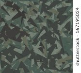 vector army camouflage... | Shutterstock .eps vector #167195024