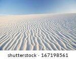 Dramatic Ripple Effect On Sand...