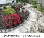 Garden Low Alpine Slide With...