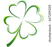 4,abstract,background,celebration,clipart,clover,culture,day,design,floral,fortune,four,four-leaf,good,green