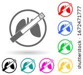 harm of cigarettes multi color...