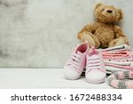 Pink Baby Girl Shoes  Newborn...