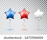 star balloons in national... | Shutterstock .eps vector #1672506004