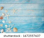 Summer Beach Background Frame ...