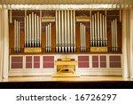 Photograph Of The Music Organ