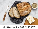 Artisan Bread And Butter On...