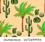 vector background hand drawn... | Shutterstock .eps vector #1672699954