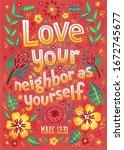 Bible Verse. Love Your Neighbor ...
