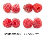 collection of ripe red... | Shutterstock . vector #167280794