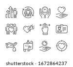 set of people icons  such as... | Shutterstock . vector #1672864237