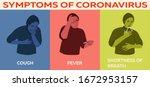 coronavirus 2019 ncov symptoms  ...   Shutterstock .eps vector #1672953157
