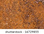 grunge rusty metal great as a... | Shutterstock . vector #16729855