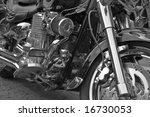chrome and black details of a... | Shutterstock . vector #16730053