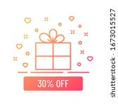 30 percent off sale gift box...