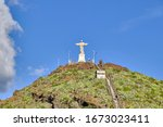 Scenic View Of The Christ The...