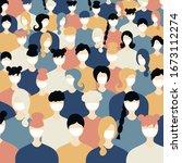 pandemic sign coronavirus... | Shutterstock .eps vector #1673112274