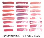 abstract watercolor red and... | Shutterstock .eps vector #1673124127
