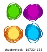 background of abstract idea... | Shutterstock .eps vector #167324135