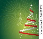 illustration of a christmas... | Shutterstock .eps vector #16732492