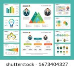 colorful research or statistics ... | Shutterstock .eps vector #1673404327