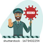 covid 19  2019 ncov concept....   Shutterstock .eps vector #1673432254