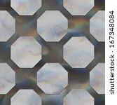 octagon. crystal pattern.... | Shutterstock . vector #167348084