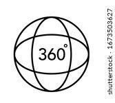 360 degree 3d virtual panorama...   Shutterstock .eps vector #1673503627