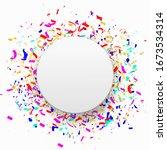 colorful celebration background ... | Shutterstock .eps vector #1673534314