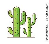 Cacti Green Rgb Color Icon....