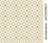 floor tiles   seamless vintage... | Shutterstock .eps vector #1673559817