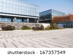 Modern Business Center Square