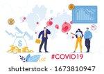 coronavirus outbreak world... | Shutterstock .eps vector #1673810947