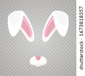 Easter Bunny White Ears...
