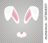 Easter Bunny White Ears...