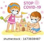 vector illustration with... | Shutterstock .eps vector #1673838487