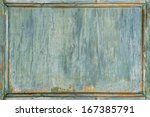 Old Vintage Wooden Painted...