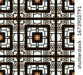 bohemian tribal watercolor... | Shutterstock . vector #1673903791