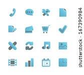 e commerce icons set for web...