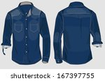 denim   Shutterstock .eps vector #167397755