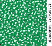 little floral seamless pattern...   Shutterstock .eps vector #1674053731
