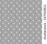 classic elegant geometric... | Shutterstock .eps vector #167410811