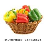Wicker Basket Full Of Sweet...