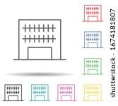 building multi color set icon....