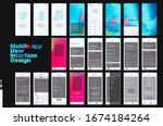 mobile app design  ui  ux. a...