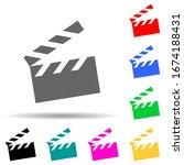 movie cracker multi color style ...
