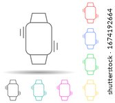 vibration on a smart watch...