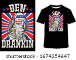 4th of july t shirts for ben... | Shutterstock .eps vector #1674254647